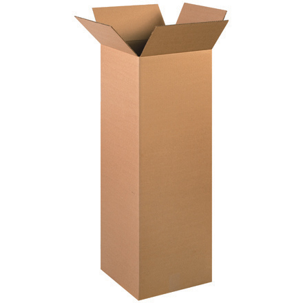 "12 x 12 x 36"" Tall Corrugated Boxes"