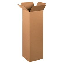 "12 x 12 x 40"" Tall Corrugated Boxes"
