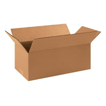 "16 x 8 x 6"" Long Corrugated Boxes"
