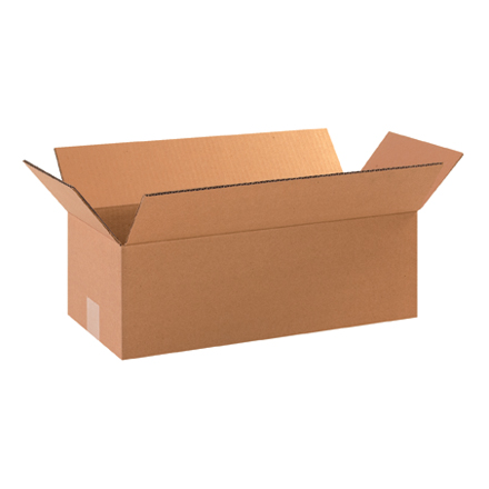 "18 x 8 x 6"" Long Corrugated Boxes"