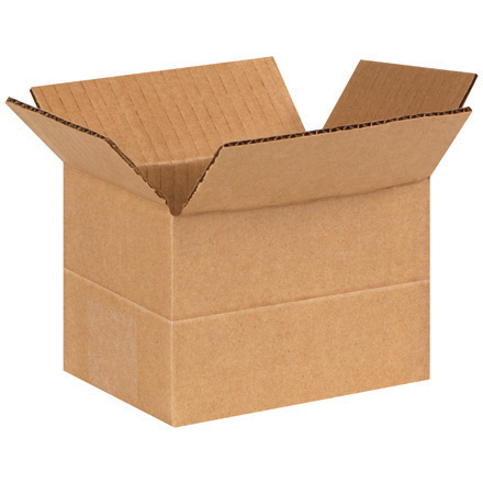 "6"" x 4"" x 4"" Multi-Depth Corrugated Boxes"
